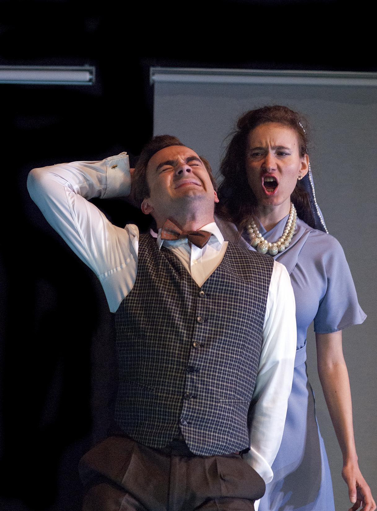 Ottavia and Ottone in L'incoronazione di Poppea